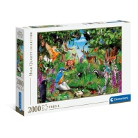Clementoni 32566 Phantastischer Wald 2000 Teile Puzzle...