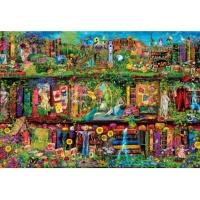 Clementoni 32567 Das Garten-Regal 2000 Teile Puzzle High...