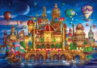 Clementoni 36529 Downtown 6000 Teile Puzzle High Quality...