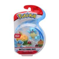 Pokemon Battle Figure Pack Schiggy + Schlapfel