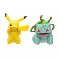 Pokemon Battle Figure Pack Pikachu + Bisasam