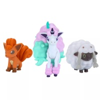 Pokemon Battle Figure Set Galar-Ponita + Vulpix + Wolly