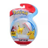 Pokemon Clip N Go Pikachu + Premierball