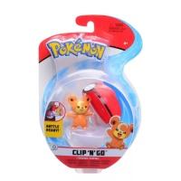 Pokemon Clip N Go Teddiursa + Pokeball