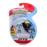 Pokemon Clip N Go Riolu + Hyperball