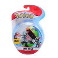 Pokemon Clip N Go Sniebel + Finsterball