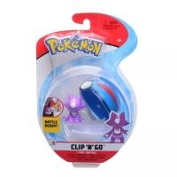 Pokemon Clip N Go Toxel + Superball