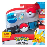 Pokemon Clip N Go Schiggy Pokemon-Trainer Gürtelset
