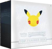 Pokemon 25th Anniversary Celebrations Top-Trainer-Box DE