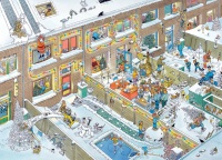 Jumbo 81913 Jan van Haasteren - Weihnachten 1000 Teile...
