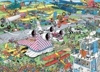 Jumbo 81918 Jan van Haasteren - Airshow 1000 Teile Puzzle
