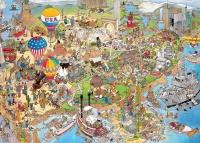Jumbo 81920 Jan van Haasteren - U.S.A. 1000 Teile Puzzle
