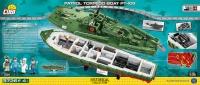 Cobi 4825 WWII Patrol Torpedo Boat PT-109 3640 Teile Bausatz