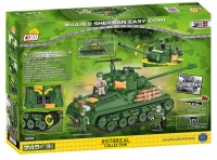 COBI 2533 HC WWII M4A3 Sherman Easy Eight 725 Teile Bausatz