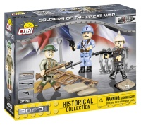 COBI 2051 HC WWII Soldiers of The Great War 30 Teile Bausatz