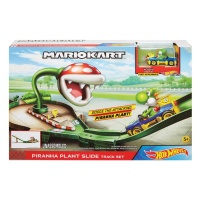 Mattel GFY47 Hot Wheels Mario Kart Piranhapflanzen-Trackset