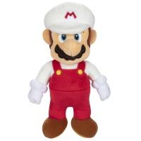 Super Mario Plüsch Feuer-Mario 22 cm