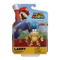 Super Mario Figur Larry mit Zauberstab 10 cm Wave 24