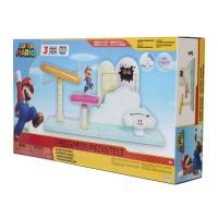 Super Mario Spielset Wolken Welt mit Figur