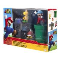 Super Mario Diorama Set Unterirdische Welt