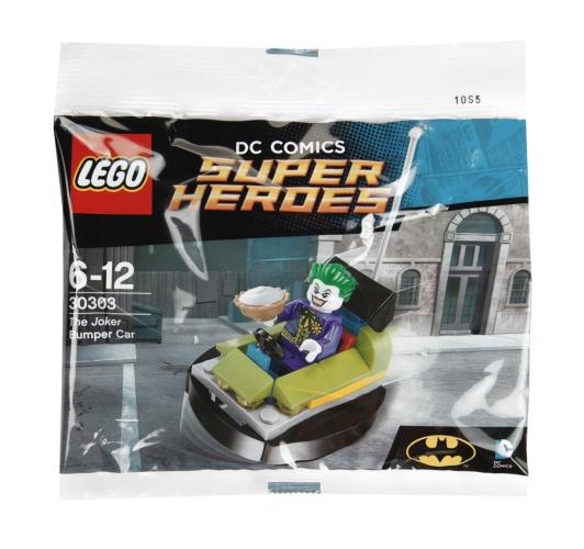 LEGO® 30303 DC Super Heroes The Joker Bumper Car Polybag