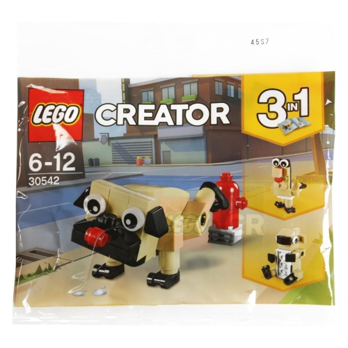 LEGO® 30542 Creator 3in1 Niedlicher Mops Polybag