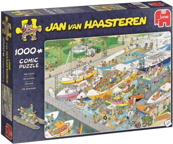 Jumbo 19067 Jan van Haasteren - Die Schleuse 1000 Teile Puzzle