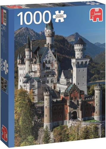 Jumbo 18558 Neuschwanstein 1000 Teile Puzzle Premium Collection
