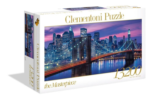 Clementoni 38009 New York 13200 Teile Puzzle High Quality Collection