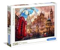 Clementoni 31807 Altes London 1500 Teile Puzzle High...