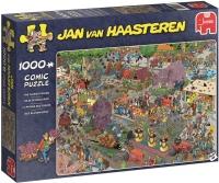 Jumbo 19071 Jan van Haasteren - Blumenparade 1000 Teile...