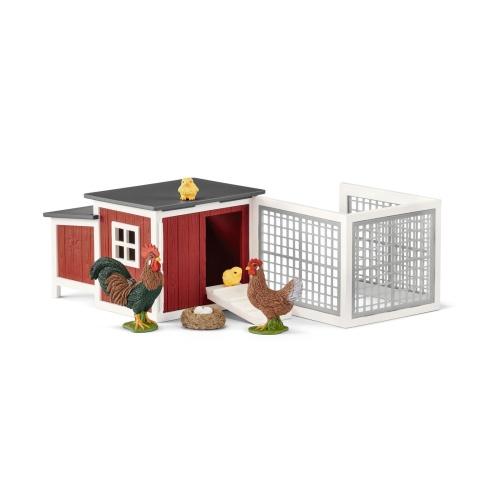 Schleich 42421 Farm World Hühnerstall