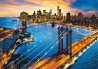 Clementoni 33546 New York 3000 Teile Puzzle High Quality Collection