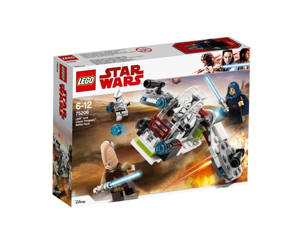 LEGO® 75206 STAR WARS Jedi and Clone Troopers Battle Pack