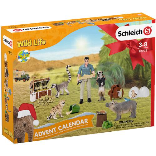 Schleich 98272 Adventskalender Wild Life 2021