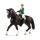 Schleich 42358 Horse Club Springreiterin mit Pferd