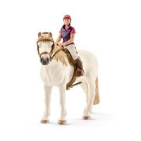 Schleich 42359 Horse Club Freizeitreiterin mit Pferd