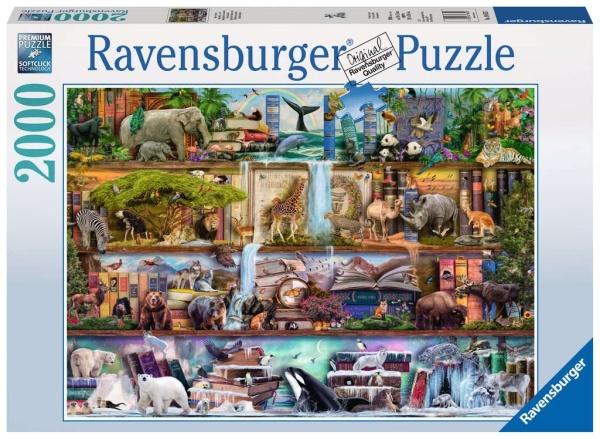 Ravensburger 16652 Aimee Steward: Großartige Tierwelt 2000 Teile Puzzle