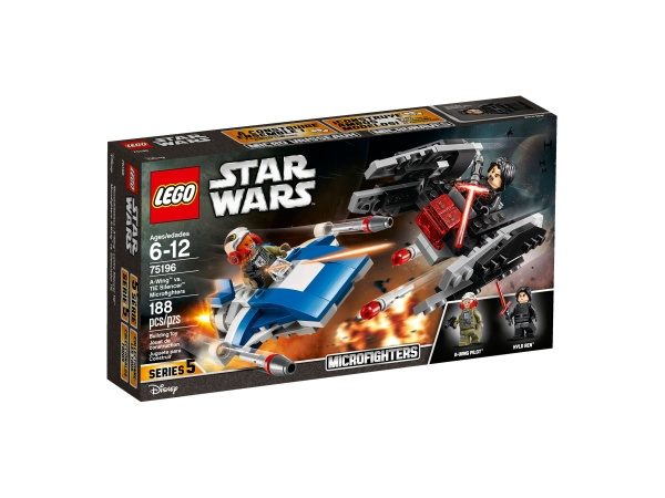 LEGO® 75196 STAR WARS A-Wing vs TI Silencer