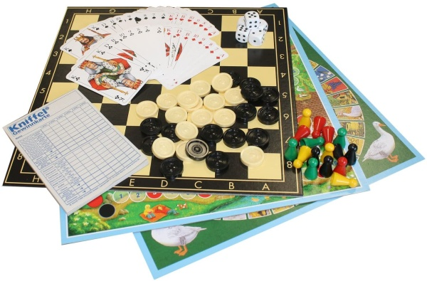 Idena 6102589 Spielesammlung 150 Spielmöglichkeiten