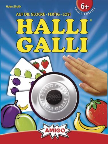 Amigo 01700 Halli Galli Kartenspiel