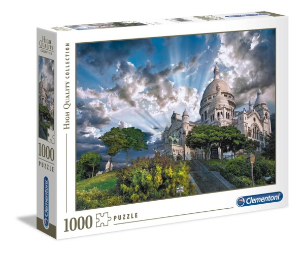 Clementoni 39383 Montmartre 1000 Teile Puzzle High Quality Collection