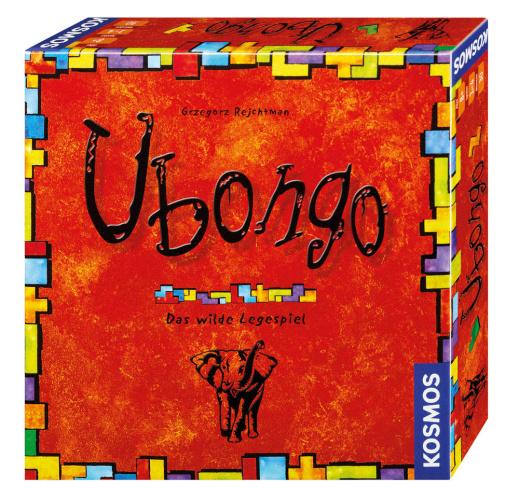 KOSMOS 69233 Ubongo Neue Edition Das wilde Legespiel