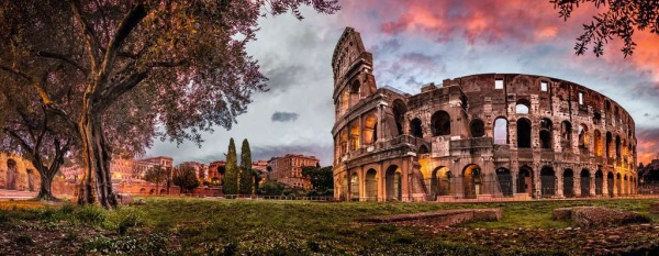 Ravensburger 15077 Colosseum im Abendrot  1000 Teile Puzzle