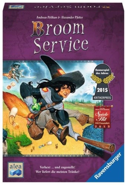 Ravensburger 26917 Broom Service