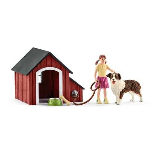 Schleich 42376 Farm World Hundehütte