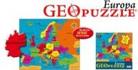Amigo 00380 GeoPuzzle Europa 58 Teile Puzzle