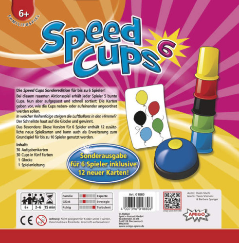 Amigo 01880 Speed Cups 6