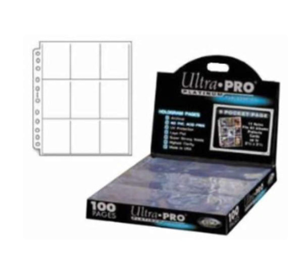 Ultra PRO 9-Pocket Platinum Pages Sammelhüllen