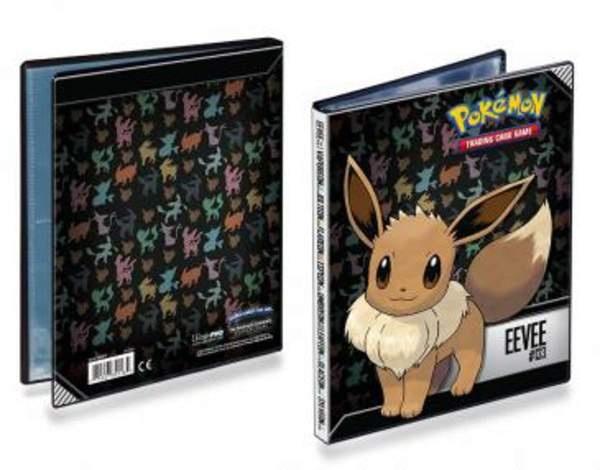 Pokemon Ultra PRO Sammelalbum Evoli 4-Pocket Portfolio Eevee